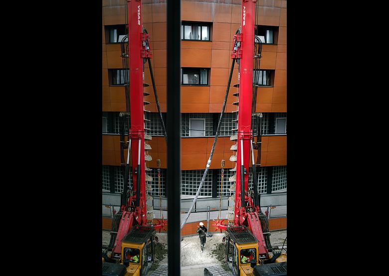Projet 26 - Travail - Les travaux du Tram d'Orléans