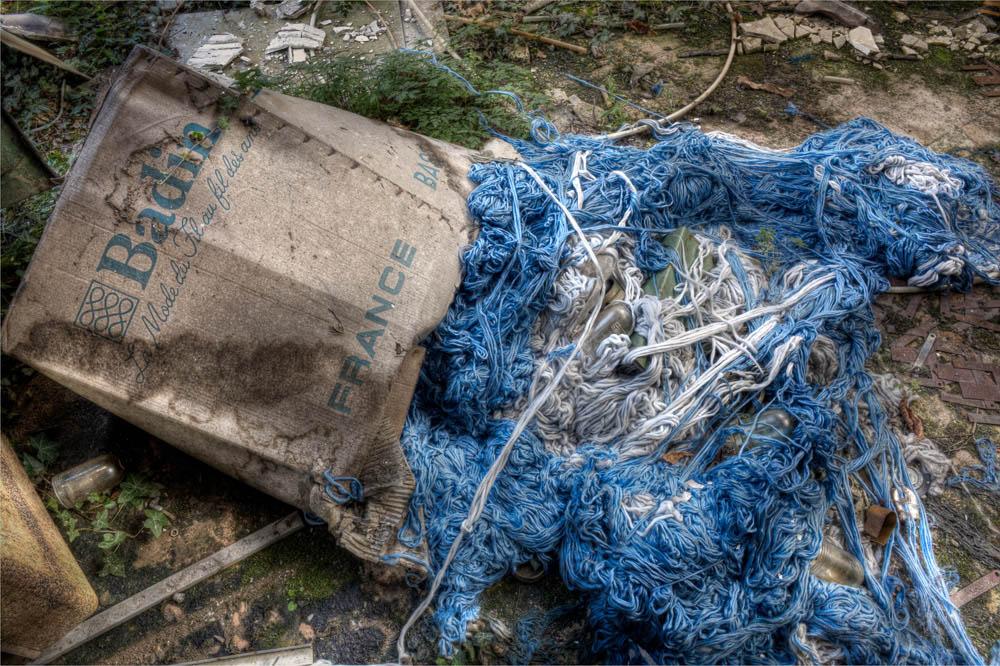 Lieux abandonnés - la filature Badin à Barentin - la mode du Fil au fil des ans