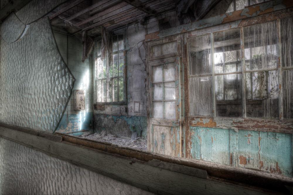 Lieux abandonnés - la filature Badin à Barentin - le service expéditions