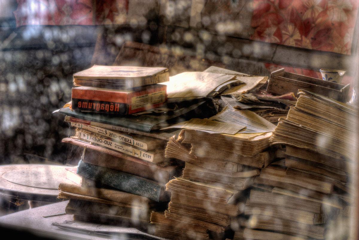 Lieux abandonnés - Ferme oubliée - Reflets de livres