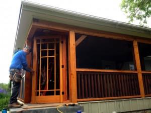 screening porch