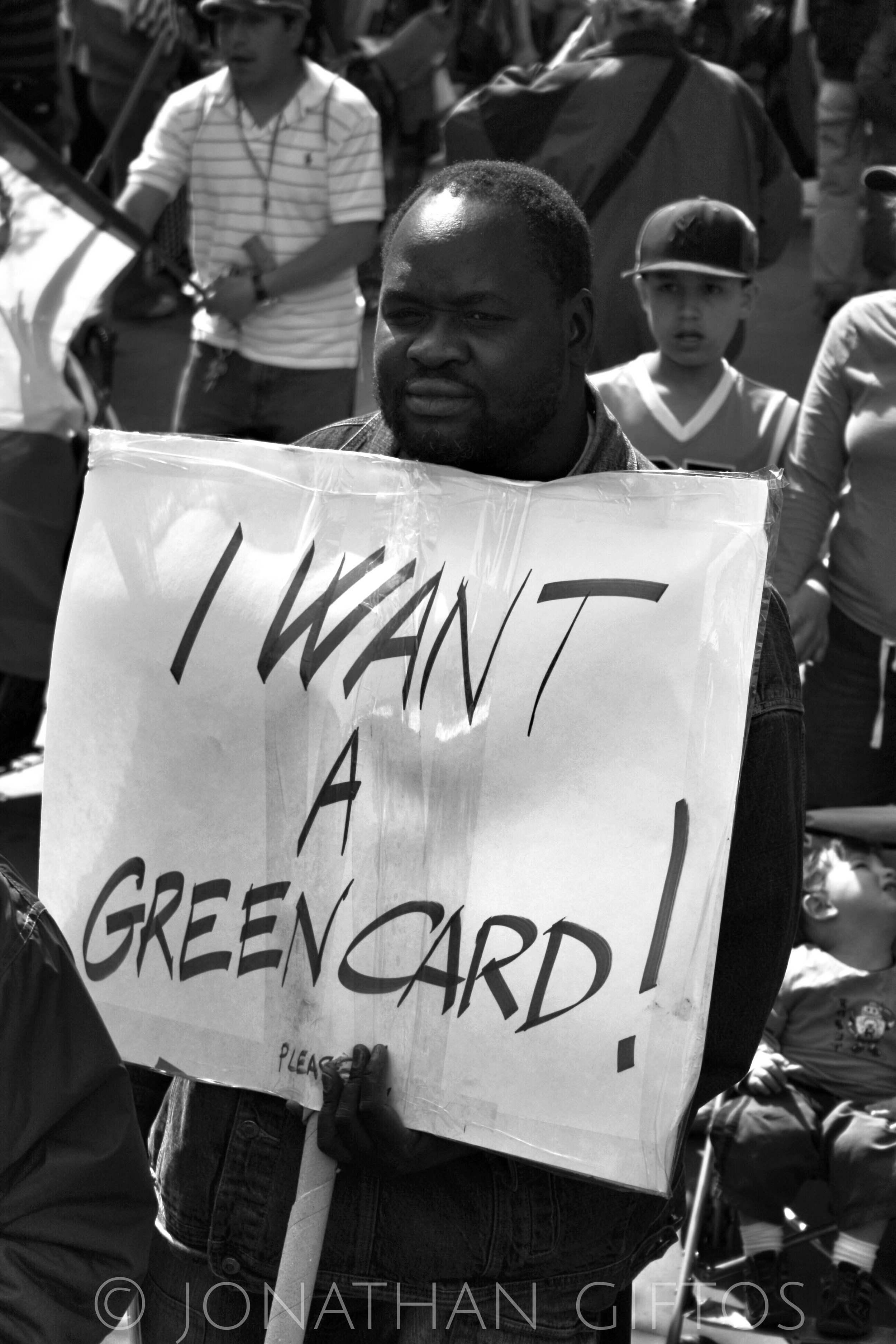 I Want a Green Card.JPG