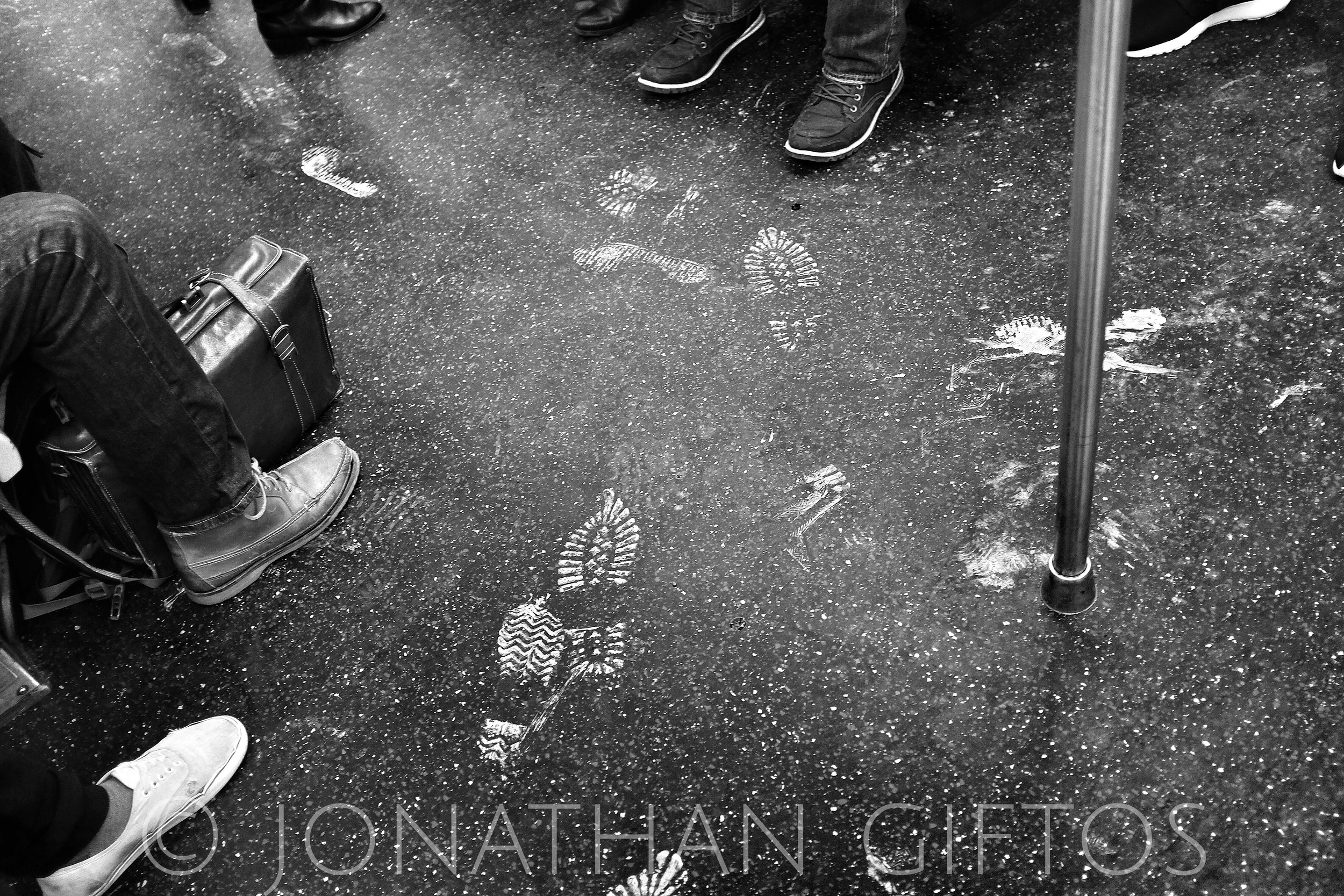 Footprints on the D Train (2015)