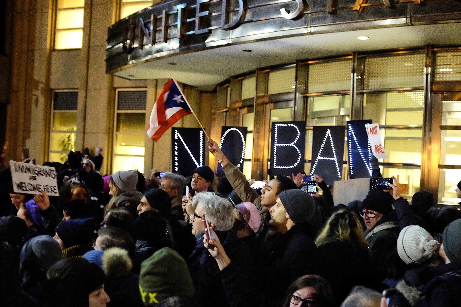 Emergency Stay of #Muslim Ban: January 29th, 2017