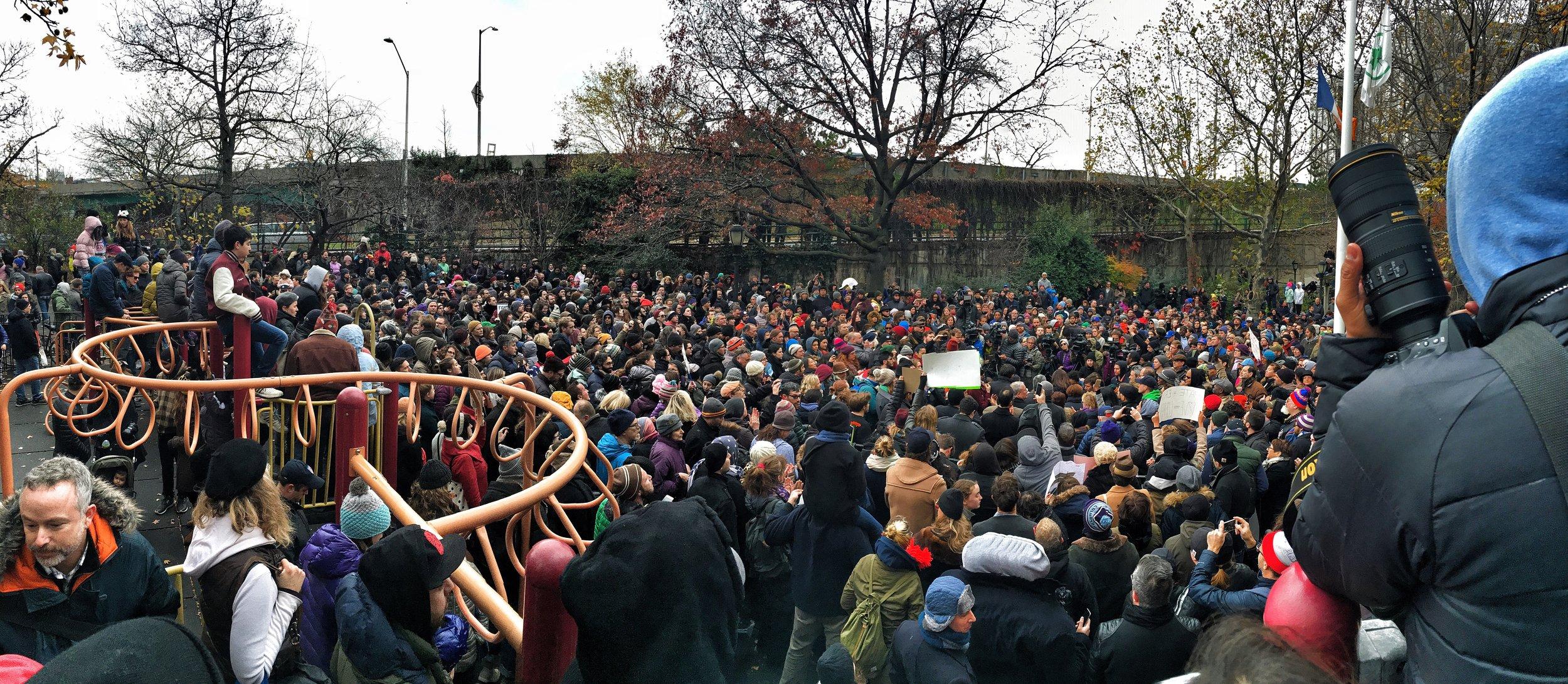 Brooklyn Resists: November 20th, 2016