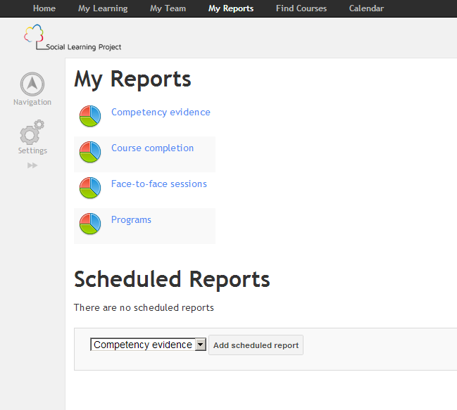 - Pre-built reports for each system role that allows for personalization by the user  - Scheduled reports can be sent via email at specified times