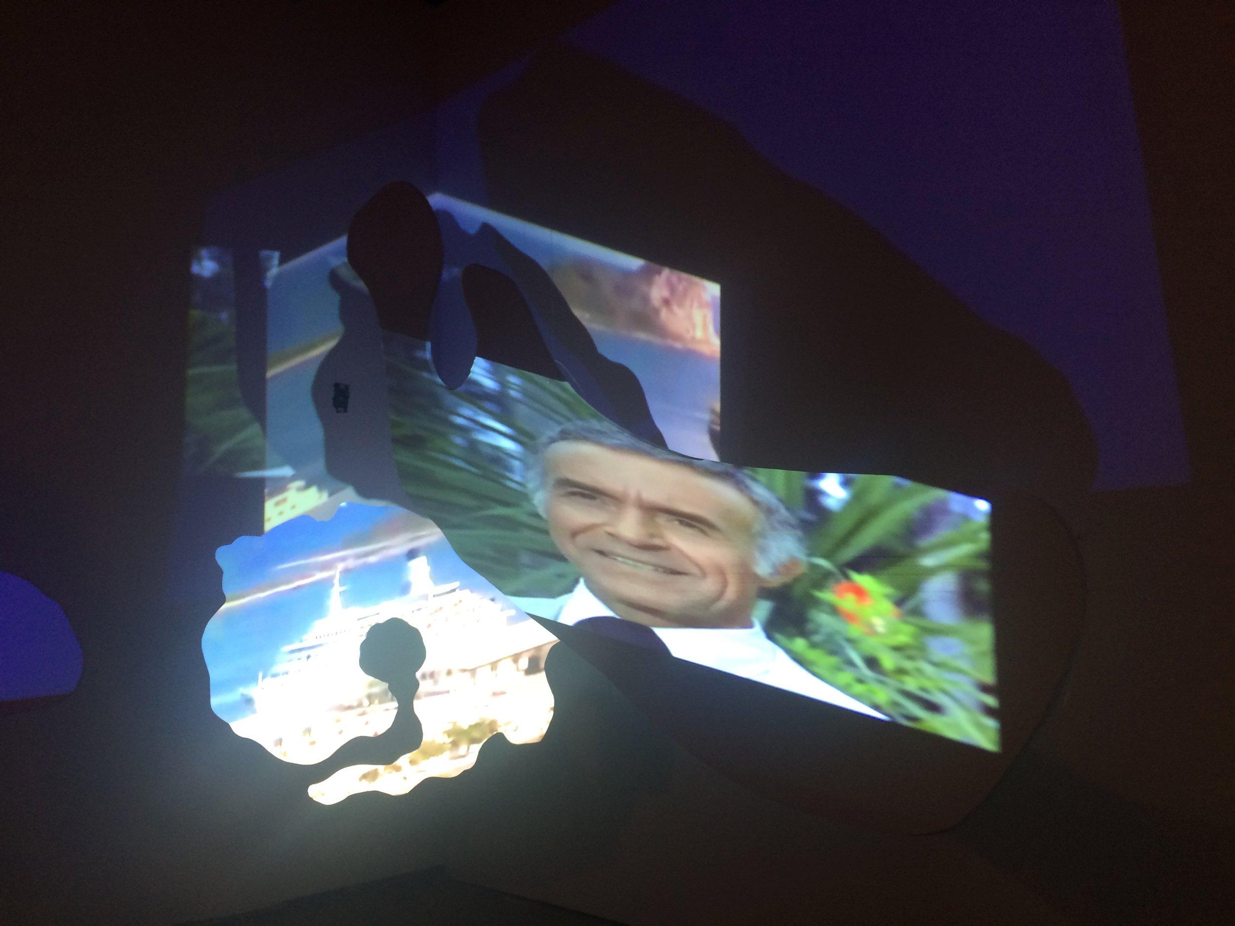 LoveIsland video sculpture