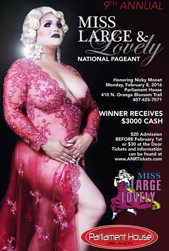 2016 Miss Large and lovely - Tanisha cassadine