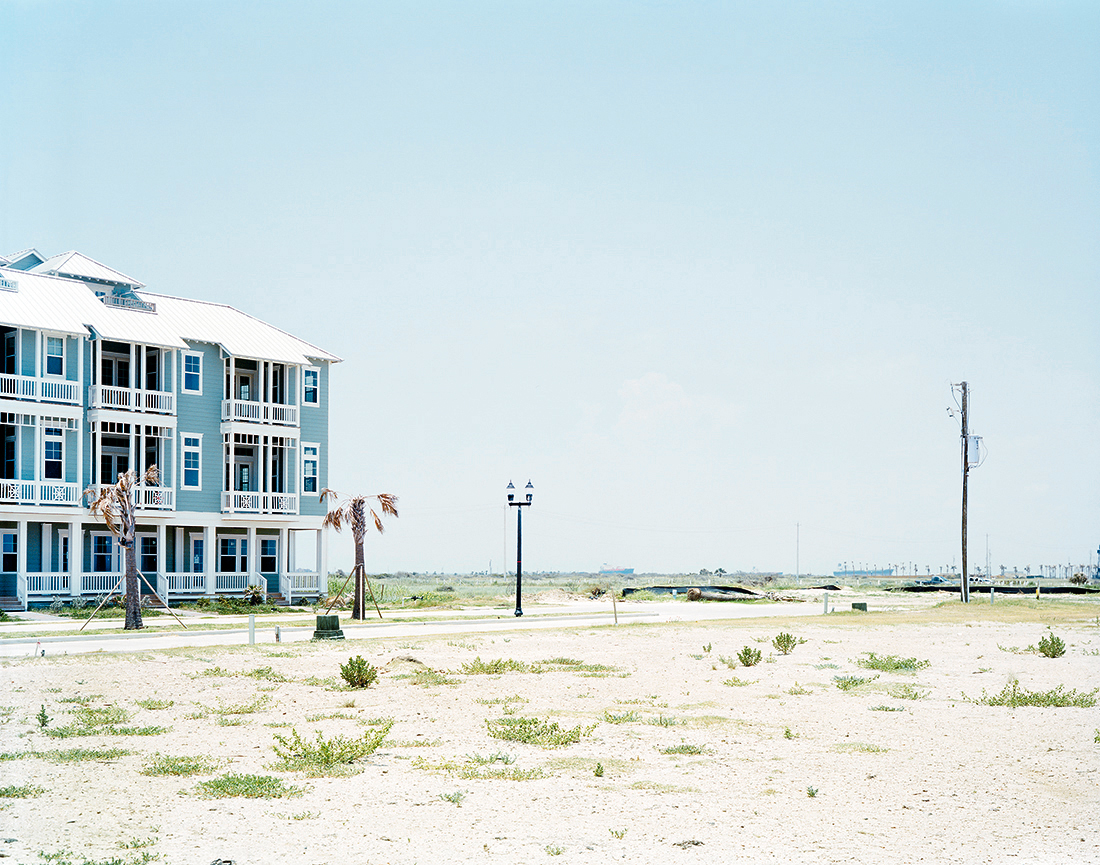 26 new condos on the beach after hurricane ike in ron paul's home district galveston tx june 2009.jpg