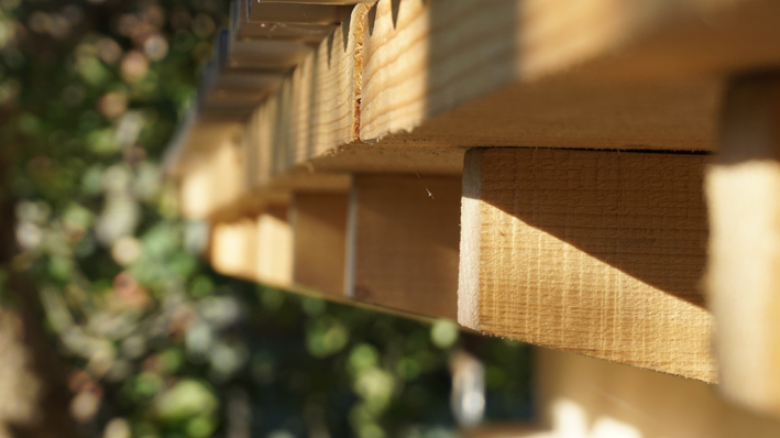 Garden Room -  Roof eave detail