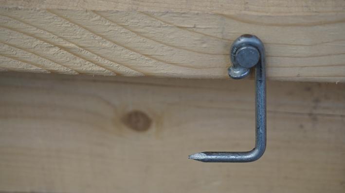 Garden Room - Wire nail door hook