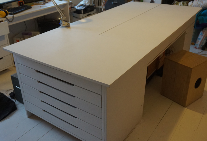 Work table - Large creative surface...