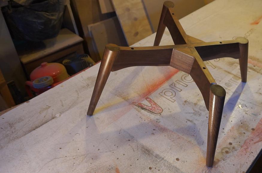 Chair ready to live again