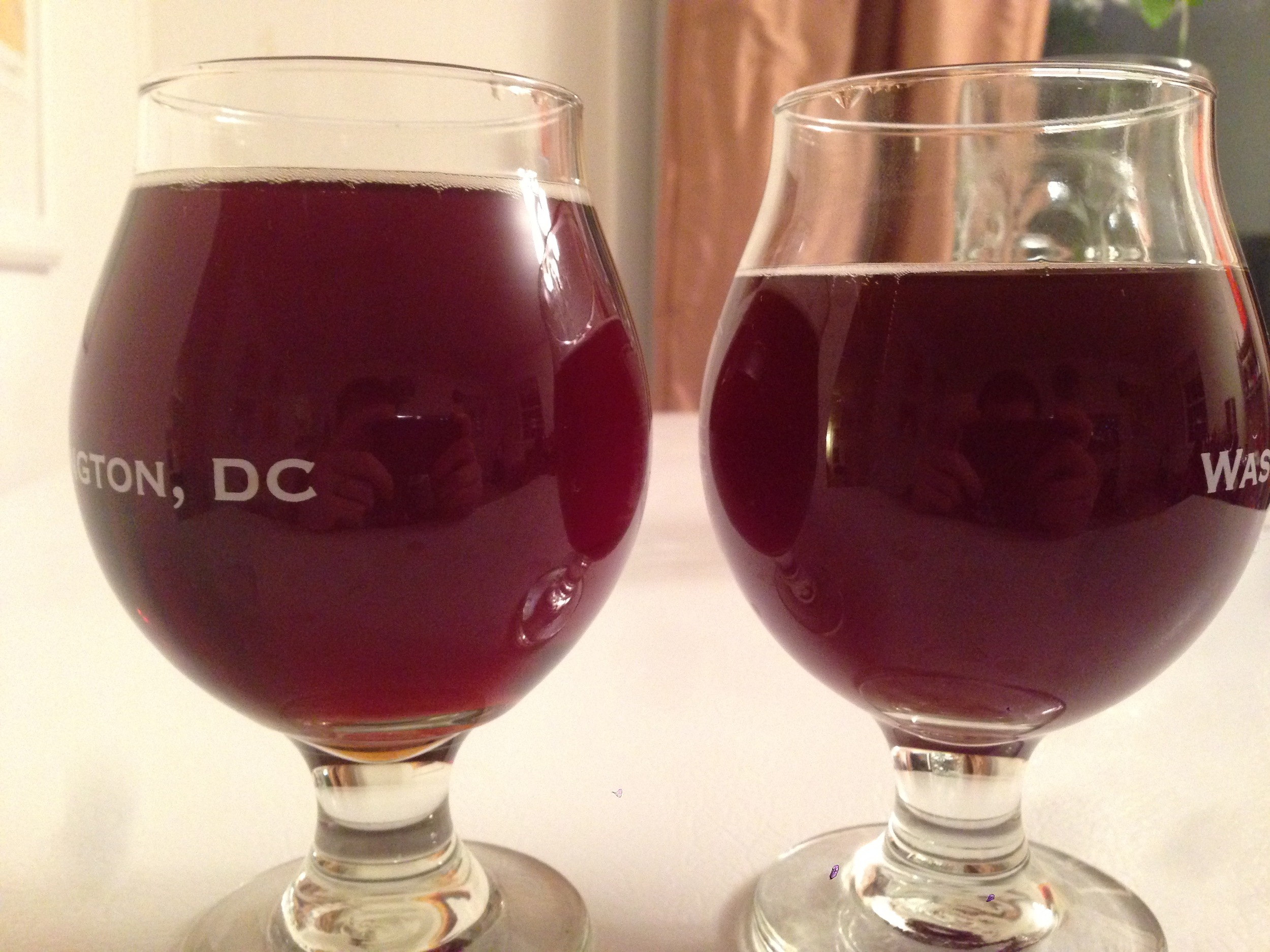 RUSSIAN RIVER LEFT, MY CLONE RIGHT