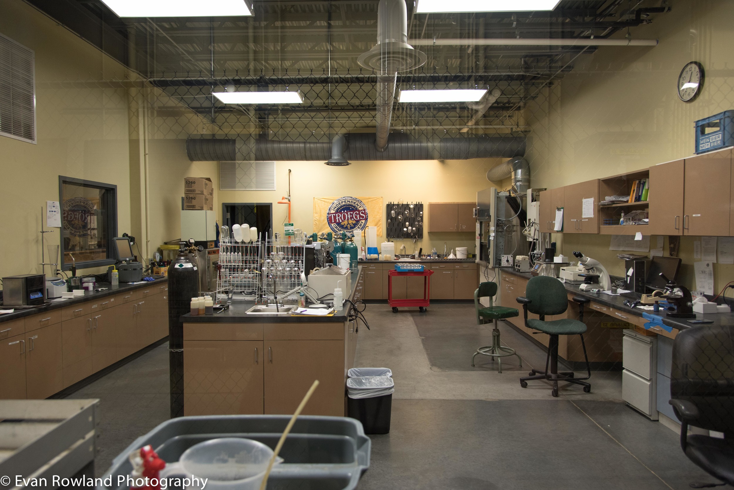 Inside the lab