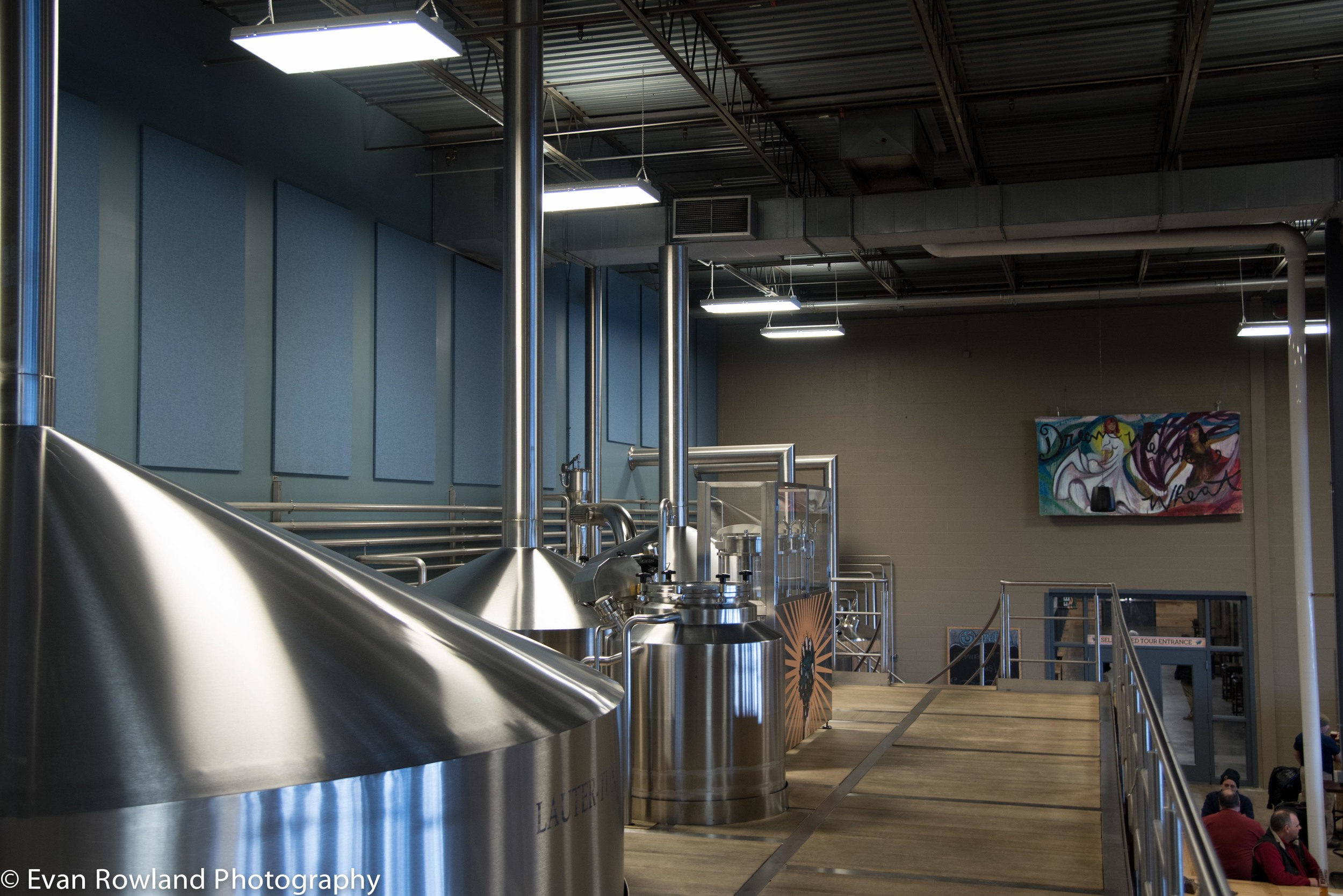 Brew deck with self tour in the background