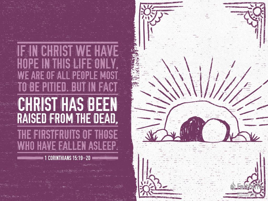 CHRIST IS RISEN! Though faith in Him, so shall we!