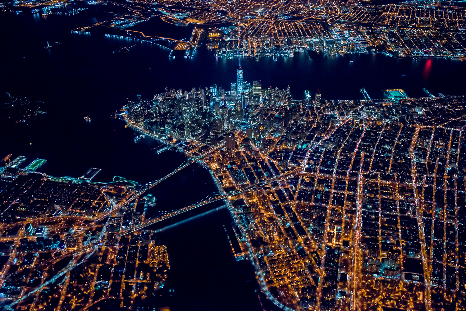 7600 High over new york #3