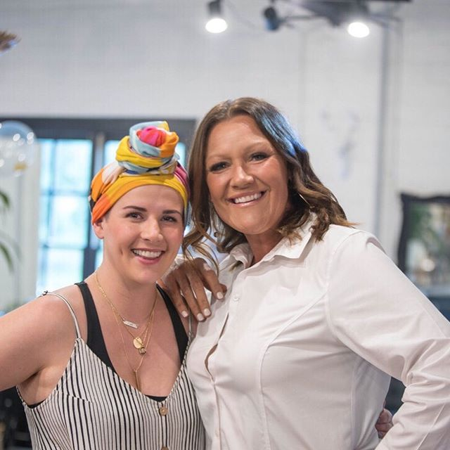 We love our Crown family so much ❤️ You help us make beauty fun even during the hardest of times. ⠀⠀⠀⠀⠀⠀⠀⠀⠀ @this_is_meganharris got to cut this fellow breast cancer warrior's hair and it was a true blessing to behold. We're proud of you both! 💗 ⠀⠀⠀⠀⠀⠀⠀⠀⠀ ⠀⠀⠀⠀⠀⠀⠀⠀⠀ #crownbblove #inspiration #crownofcreation #bedeeplyrooted #liveauthentic  #crownbeautybar #fayettevilleAR #nwarkansas #crownbbgirl #crownofcreation #beauty #nwasalon #nwaspa