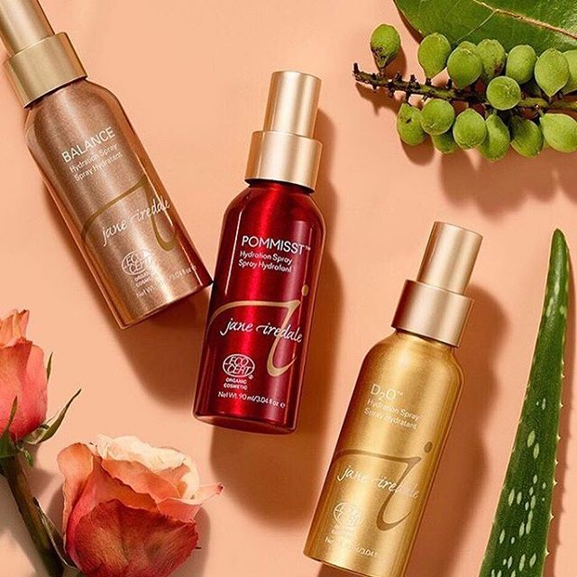 We love these hydration sprays for just about any time of the day! Keeps dryness away, leaving your skin fresh, hydrated and smelling great ✨ ⠀⠀⠀⠀⠀⠀⠀⠀⠀ #crownBBmakeup #janeiredale #yesjaneiredale #skincaremakeup #mineralmakeup #beauty #liveincolor #makeup #mua #wakeupandmakeup #crownbeautybar #fayettevilleAR #healthyskin #healthyglow #skin