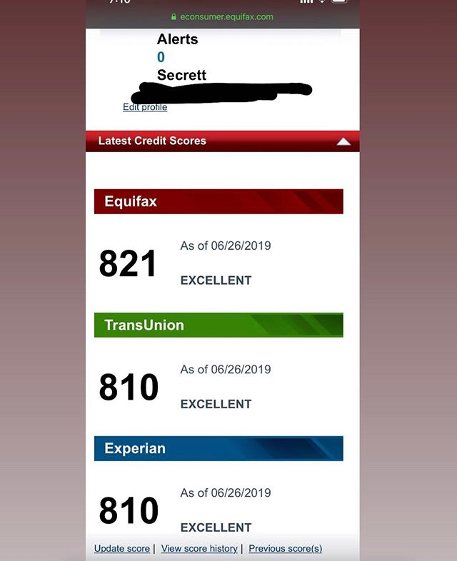 But is this #CREDITSCORECHALLENGE going viral or nah 🤔💡