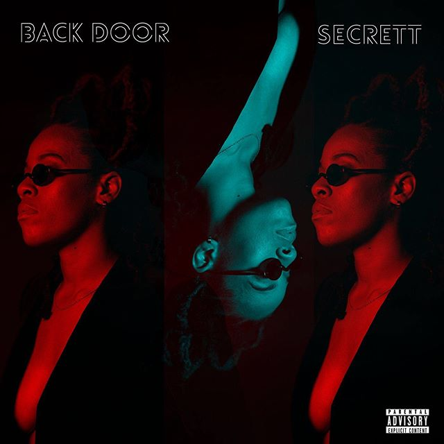 "New single ""BACK DOOR"" just dropped - available on all digital platforms. 🧺💋 LINK IN BIO."