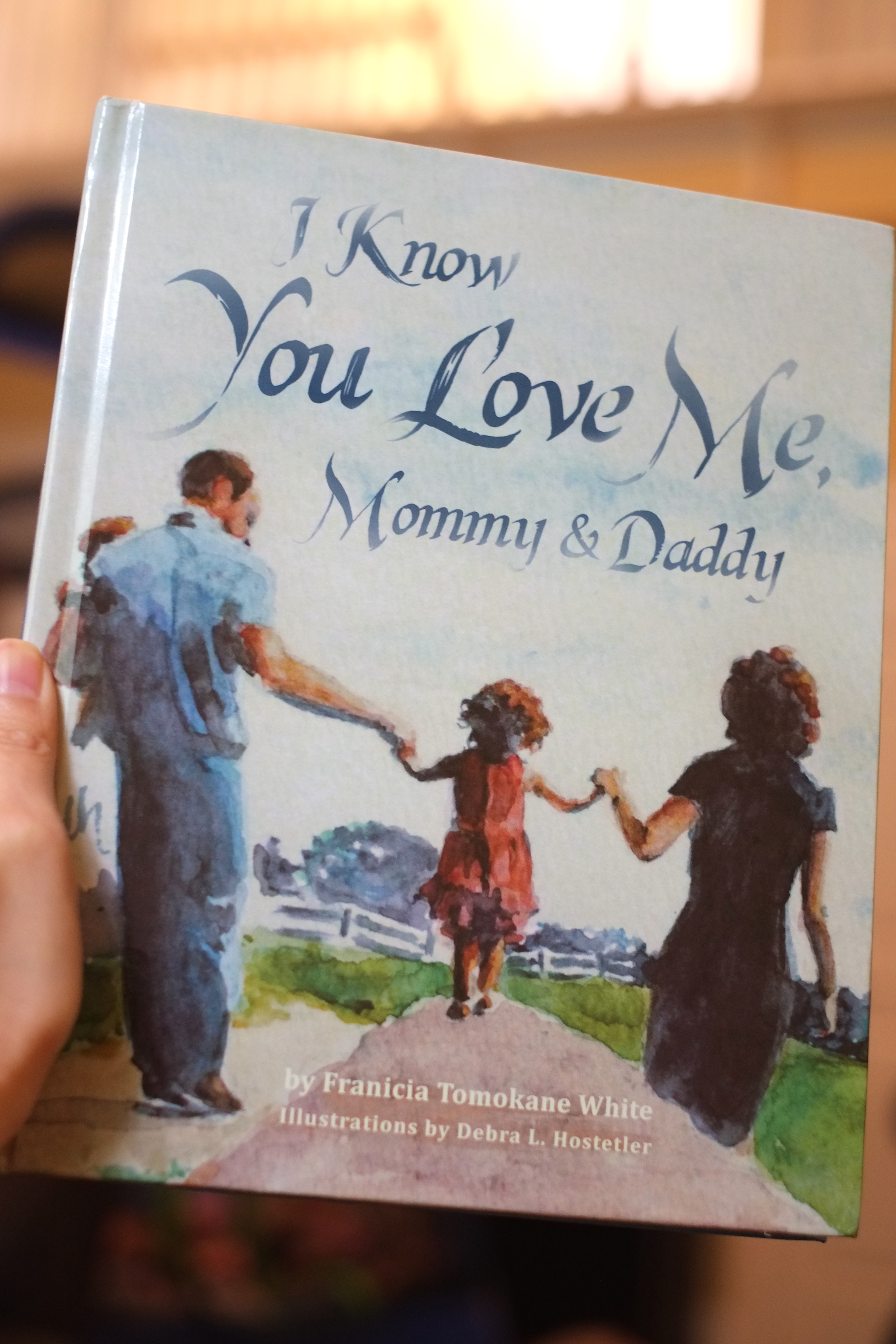 I Know You Love Me Mommy and Daddy hardcover Christian children's book free giveaway publishers Wholesome Press