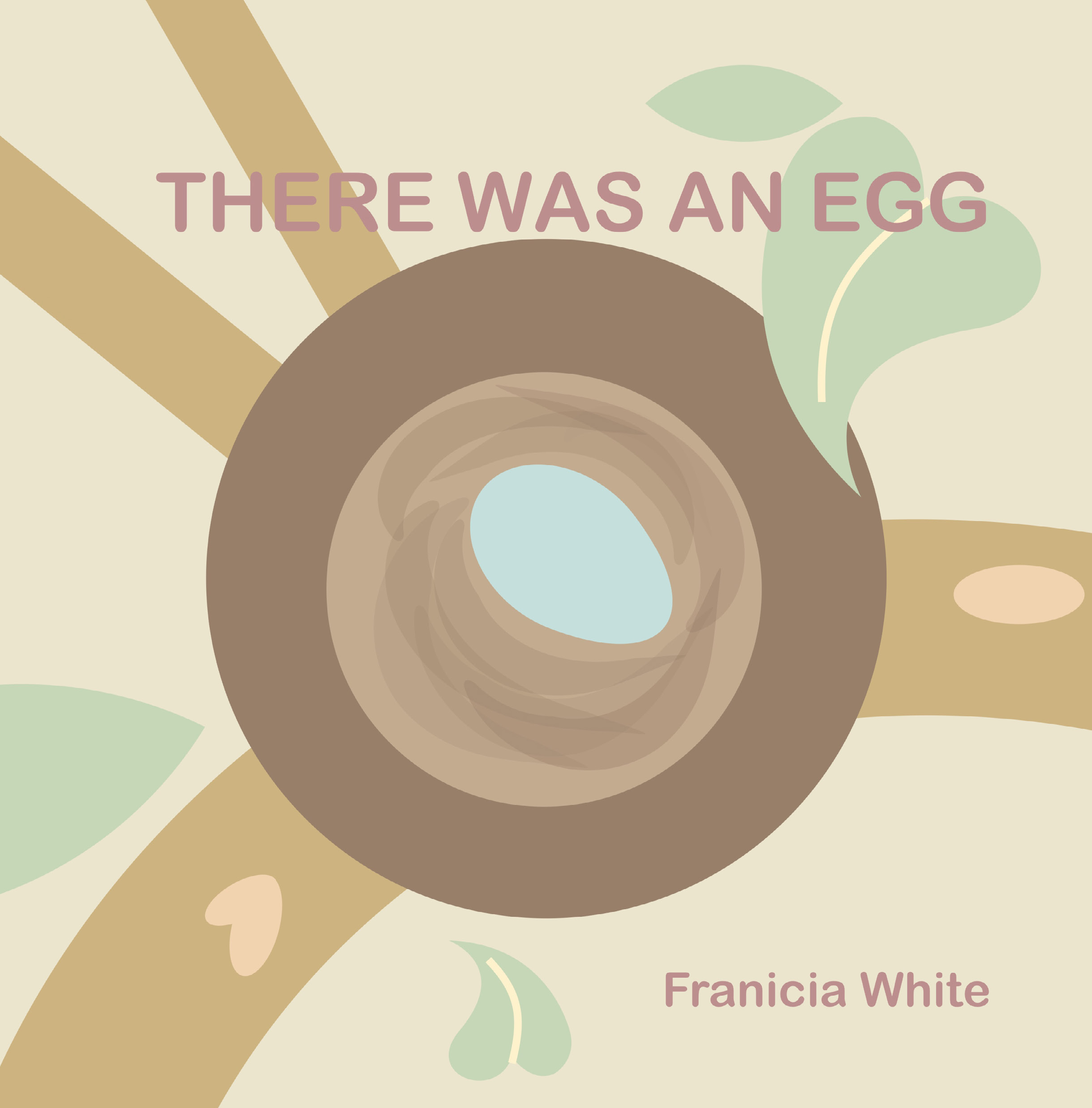 There Was an Egg childrens book cover