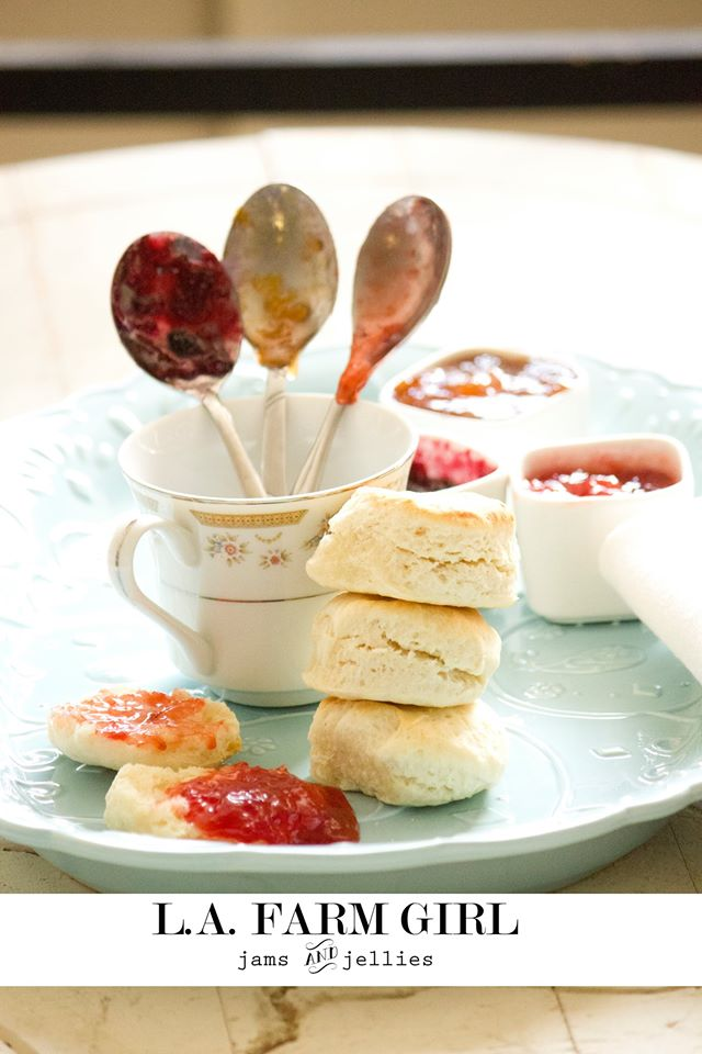 Easy Sweet Cream Biscuits - SHOP ALL | L.A. FARM GRL JAMS