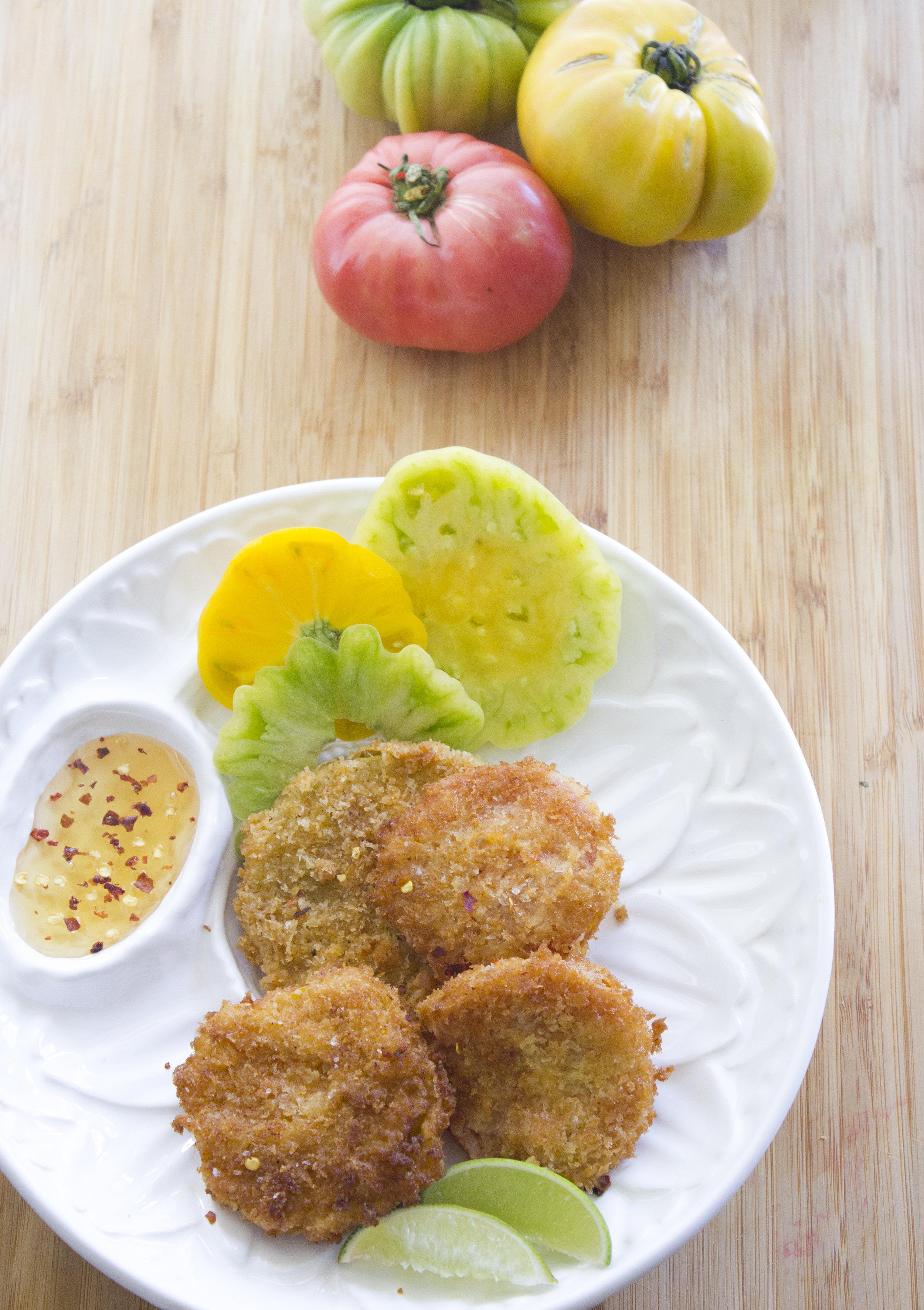 Fried Heirloom Tomatoes - BUY NOW | HABANERO HONEY