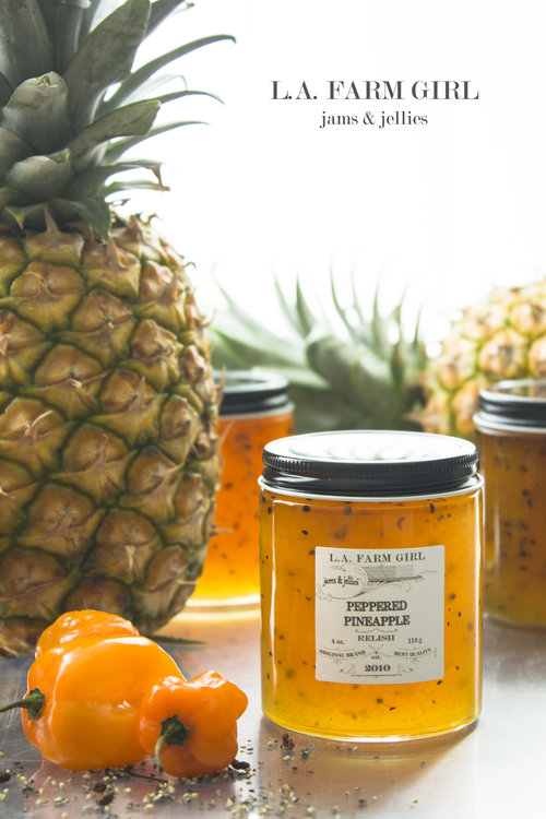 peppered pineapple relish