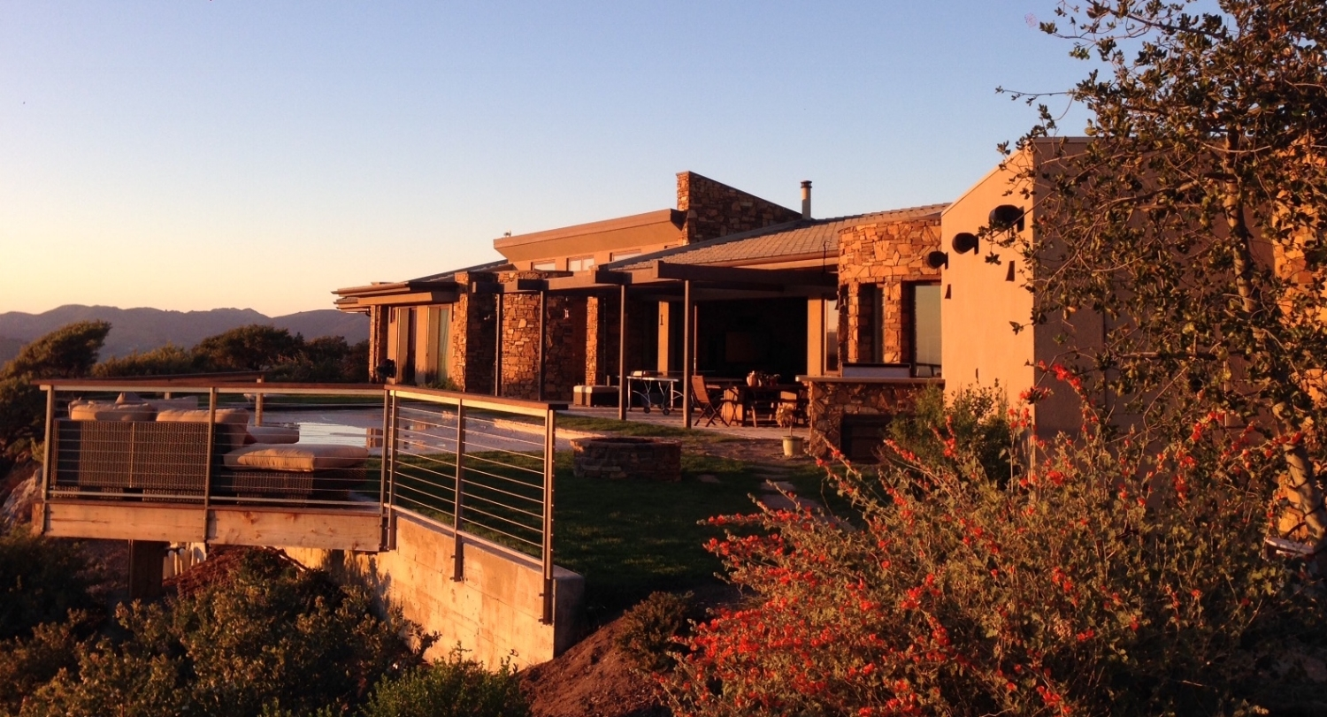 New Residence in Avila Beach, CA. Desert Contemporary style Architecture.