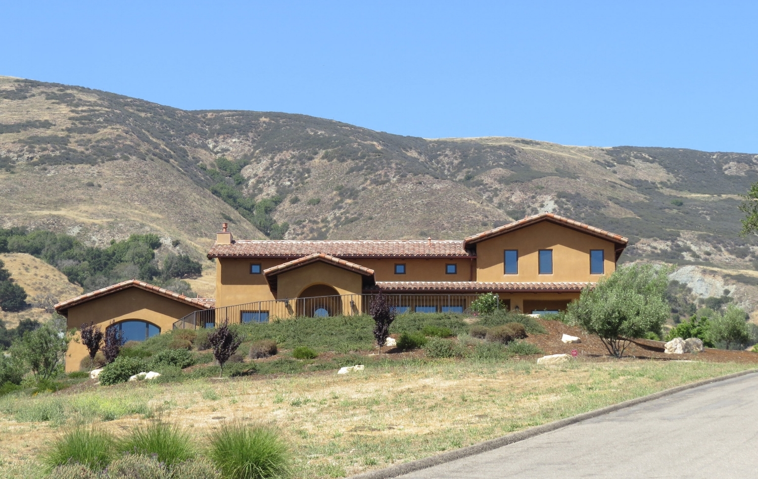 New Residence in San Luis Obispo, CA. Mediterranean style architecture.