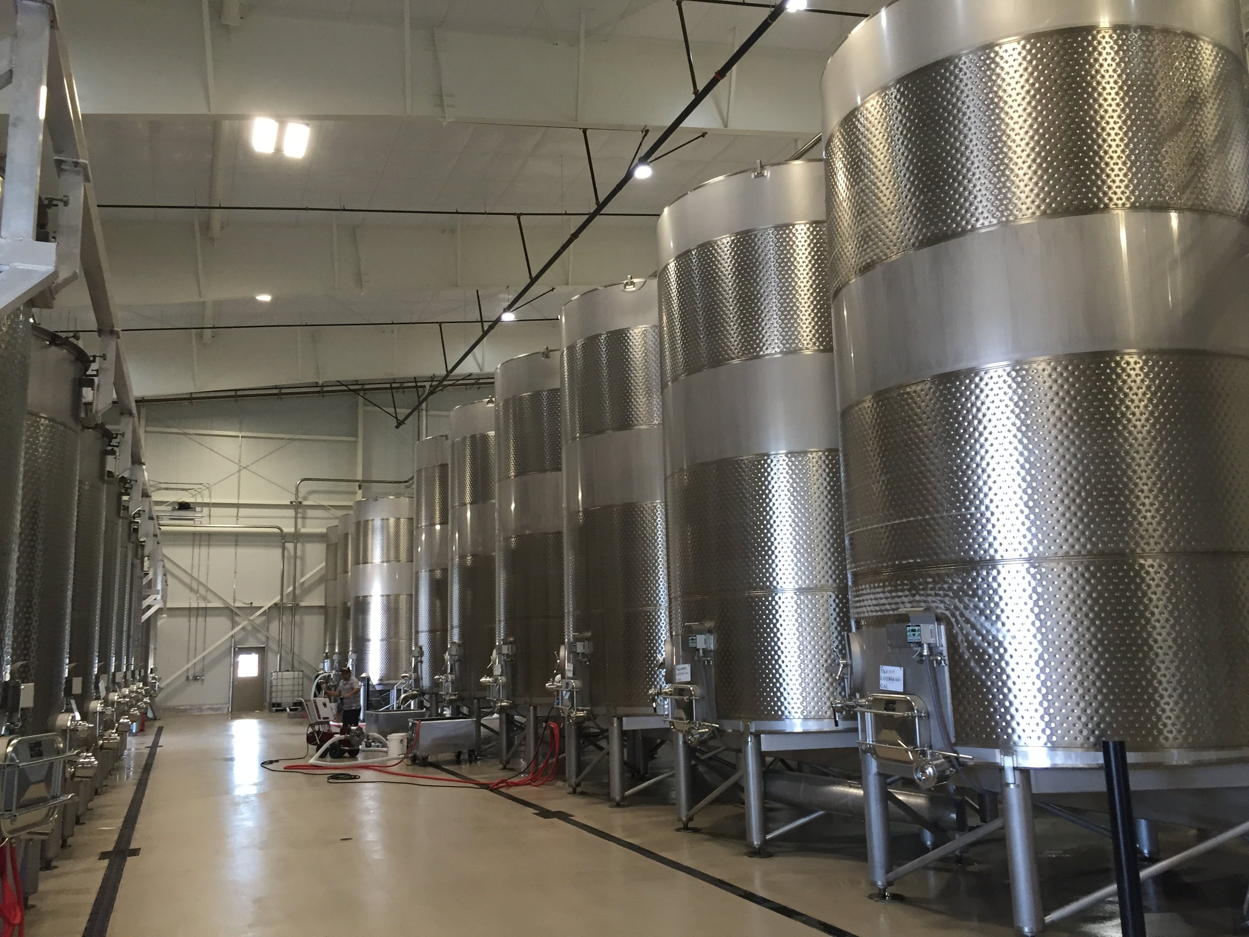 New wine production facility for San Antonio Family Winery in Paso Robles, Ca.