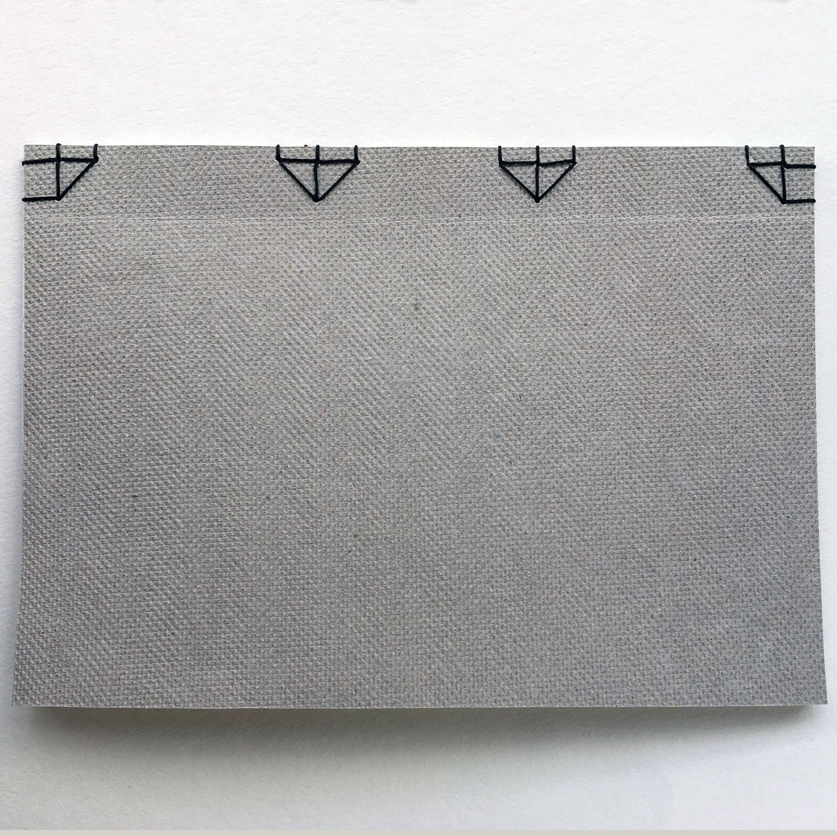japanese binding - partial sewing -