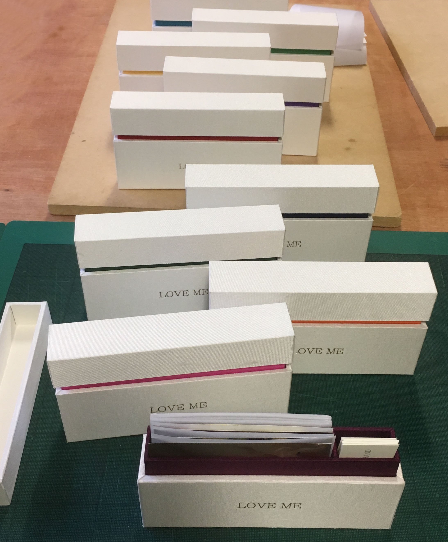 bespoke artist boxes