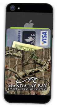 Mossy Oak® Silicone Cell Phone Wallet