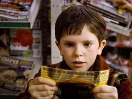 Golden Ticket Chocolate Bars Casino Sourcing