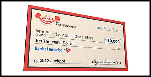 O  versized Checks  -  Jackpot Gifts