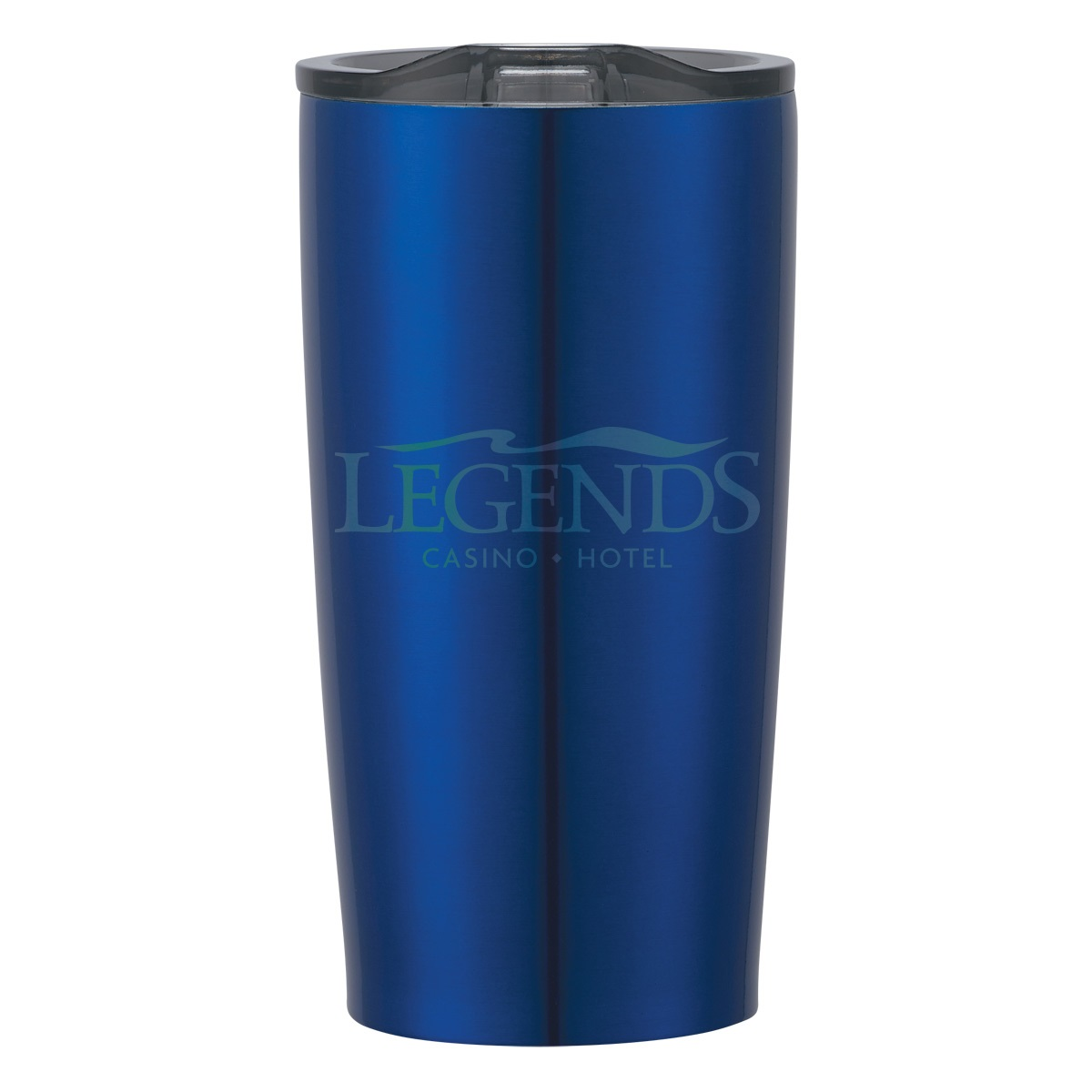 22 OUNCE ROYAL BLUE TUMBLER WITH LASER ENGRAVED LOGO