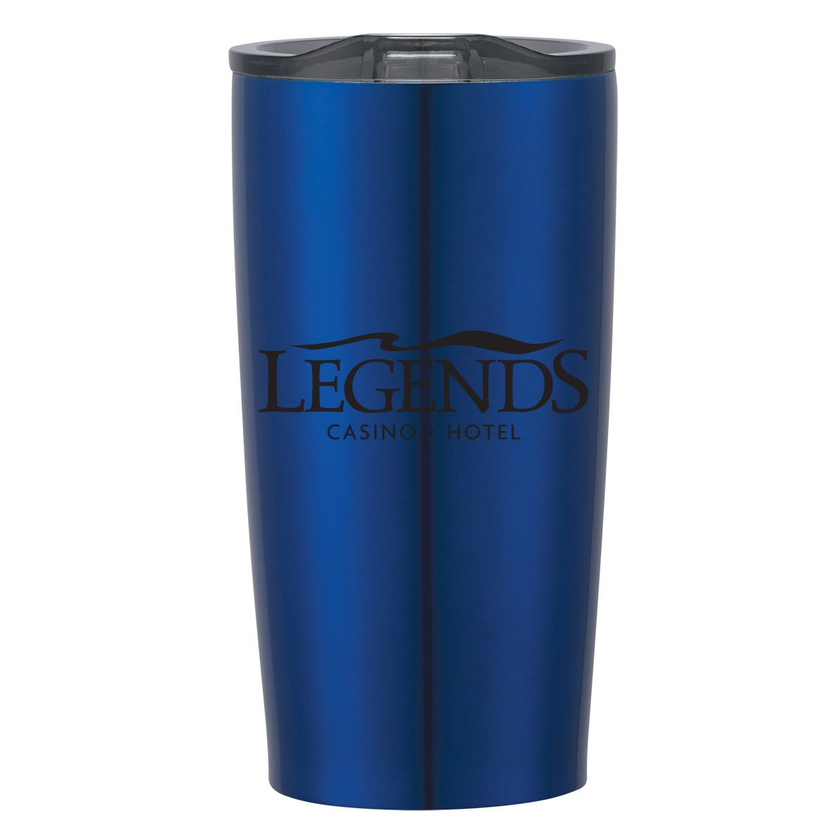 22 OUNCE ROYAL BLUE TUMBLER WITH 1-COLOR IMPRINT