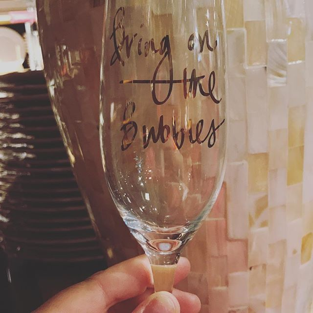 Love this champagne glass as I love champagne!!!! Every day should be a #bringinthebubbles day!