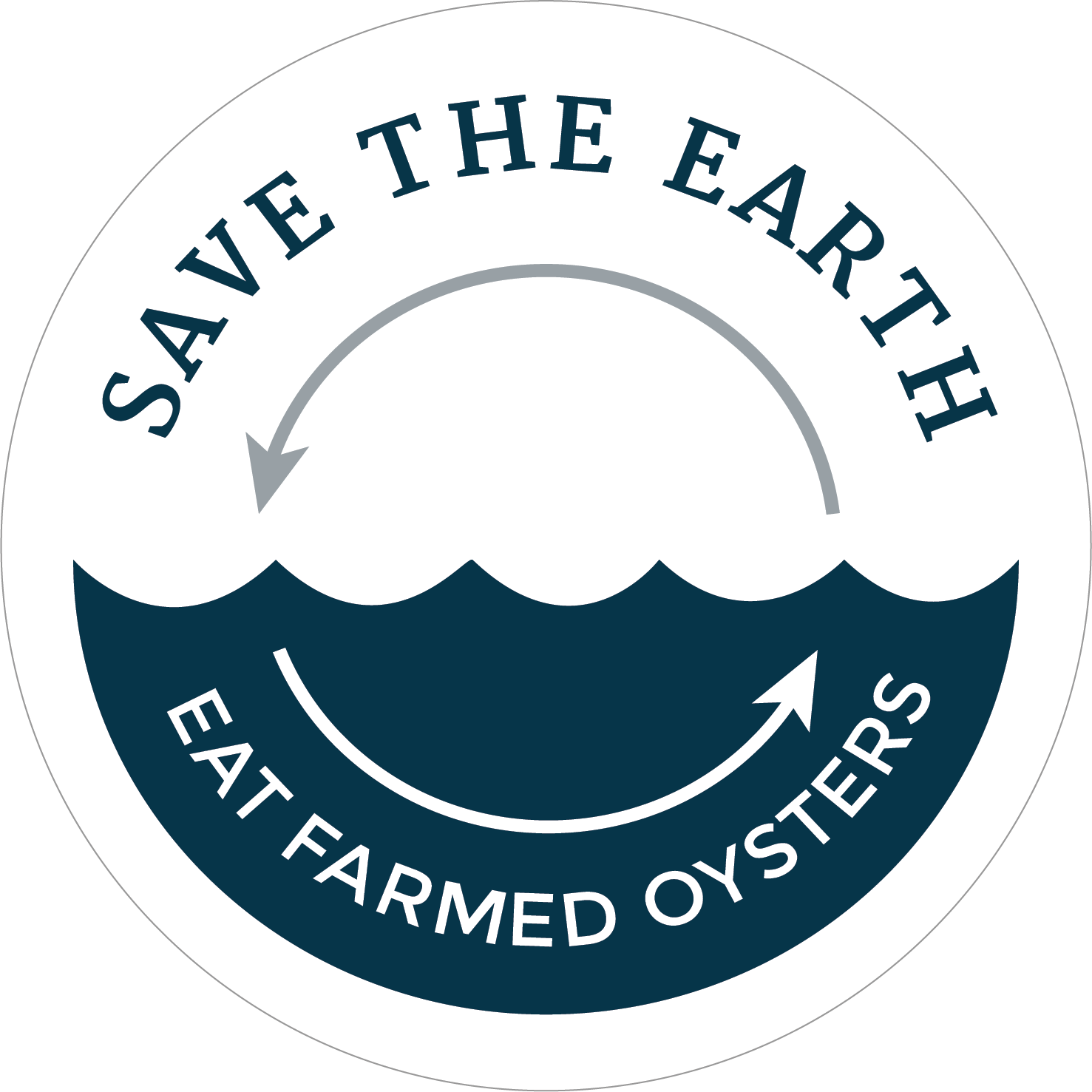Save the Earth, Eat Farmed Oysters
