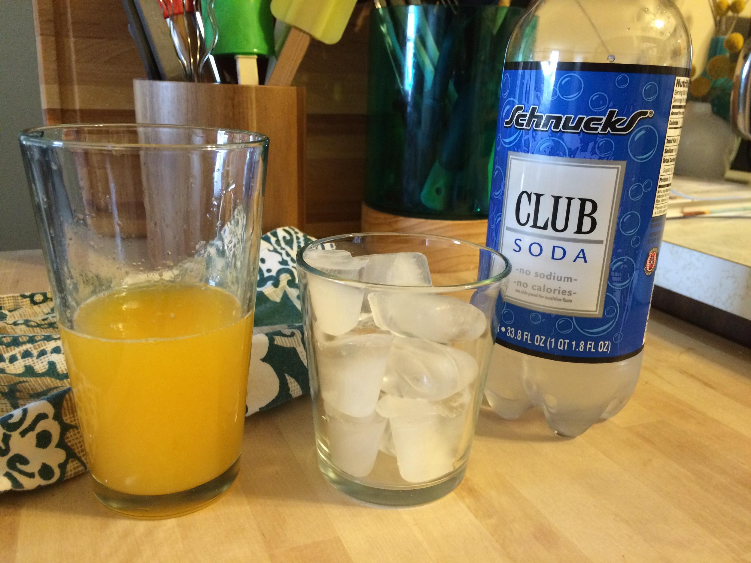 Refreshing Citrus + Club Soda