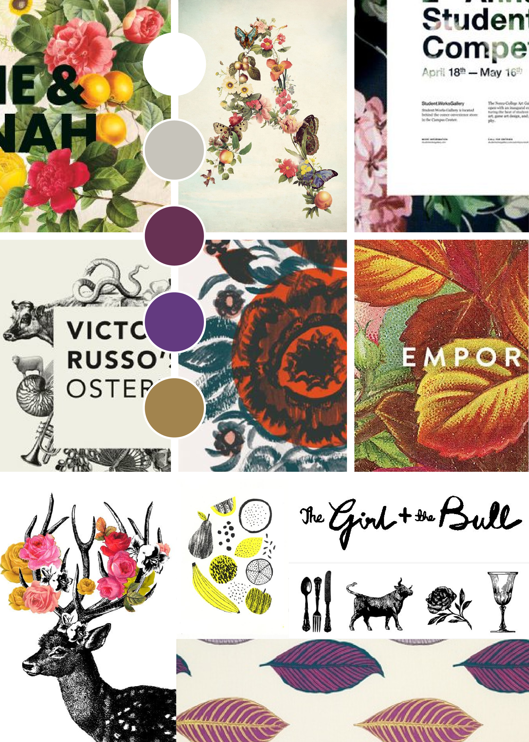 Inspiration Board: Radiant // brianakapper.com // Briana Kapper is a graphic designer who loves freelancing for small brands and churches.