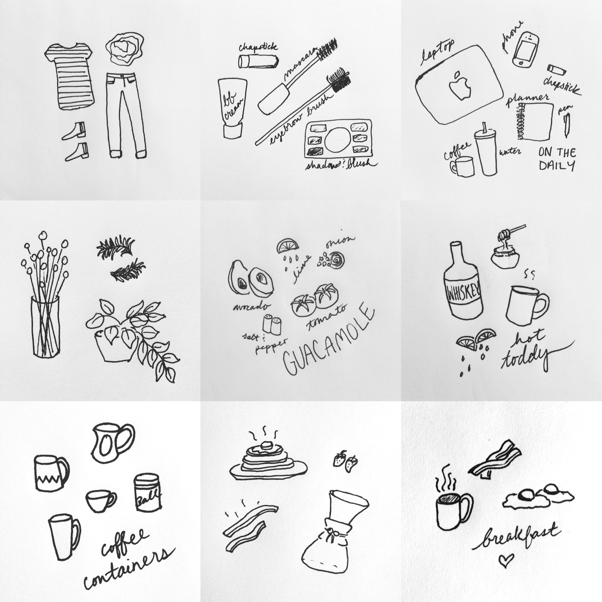 Sketches by Briana Kapper