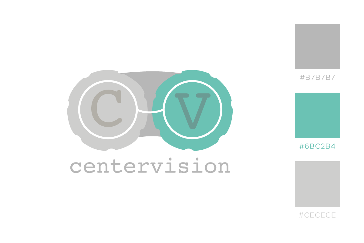 CenterVision – Eye care organization. Second place in logo contest. www.centervisionclinic.org