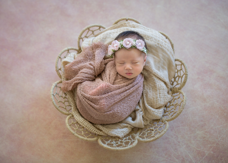 Fine Art Newborn Baby photography