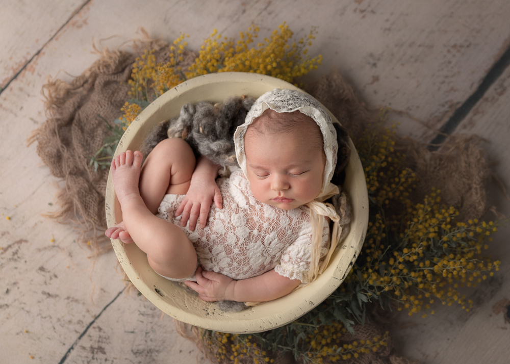 Los Angeles Fine Art Newborn Photography