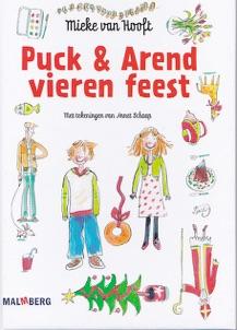 Puck en Arend vieren feest